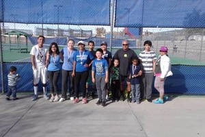 Photo #1: TENNIS LESSONS FOR JUNIORS & ADULTS at EAST SIDE EPTX