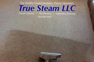 Photo #2: True Steam LLC. Carpet Cleaning