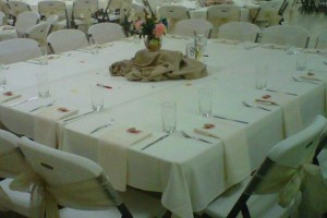 Photo #7: Culinary Adventures Catering. Wedding Catering & Decorations