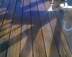 Photo #1: Pressure Washing- Patio Decks, furniture etc. Save today!