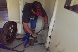 Photo #9: Licenced plumber 30+ years. DRAIN CLEANING SERVICES