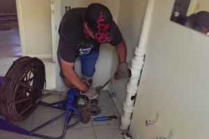 Photo #10: Licenced plumber 30+ years. DRAIN CLEANING SERVICES