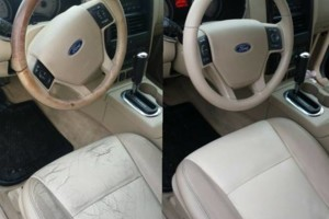 Photo #1: King Ranch. Mobile Car Leather Repair, Upholstery