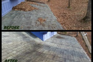Photo #1: LEAF REMOVAL AND GUTTER CLEANING