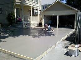 Photo #2: Driveways and patios poured
