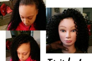 Photo #3: Trish J's custom beauty! $65 sew-in, $45 quickweave, $35 style, $15 roller set. Call now!