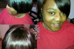 Photo #2: Trish J's custom beauty! $65 sew-in, $45 quickweave, $35 style, $15 roller set. Call now!