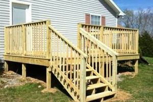 Photo #1: Quality Decks Fence Installation