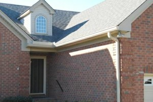Photo #4: EAGLE SEAMLESS GUTTERS PLUS. Gutter Cleaning