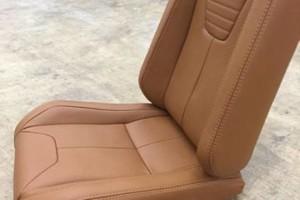 Photo #1: Convertible Top Repair. Custom Upholstery. Leather Seat Repair