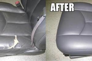Photo #5: Convertible Top Repair. Custom Upholstery. Leather Seat Repair