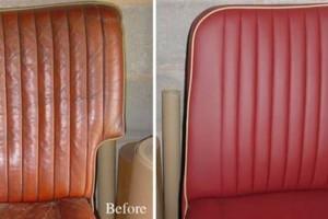 Photo #14: Convertible Top Repair. Custom Upholstery. Leather Seat Repair