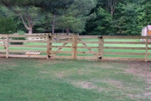 Photo #6: Fence & Deck (Build & Repair). Outdoor Creations