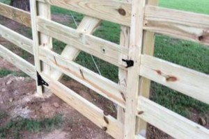 Photo #4: Fence & Deck (Build & Repair). Outdoor Creations