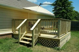 Photo #3: Fence & Deck (Build & Repair). Outdoor Creations
