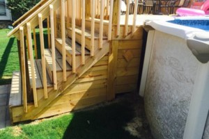 Photo #2: Fence & Deck (Build & Repair). Outdoor Creations