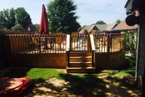 Photo #1: Fence & Deck (Build & Repair). Outdoor Creations