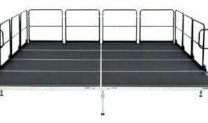 Photo #1: BRAND NEW 40' x 40' Bil Jax AS 2100 Aluminum Stage