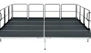 Brand New 40 X 40 Bil Jax As 2100 Aluminum Stage 615