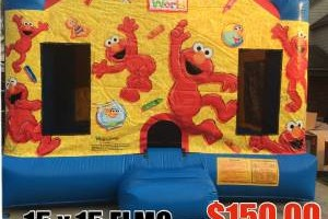 Photo #2: TONS OF FUN JUMPERS. TABLE AND CHAIR RENTALS AND CHARACTER THEME...