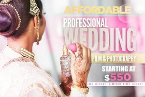 Photo #1: WEDDING PHOTOGRAPHY AND WEDDING VIDEOS STARTING AT $550
