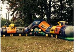 Photo #4: Book your inflatable bounce, slide or waterslide with us!!!!