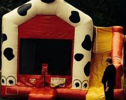 Photo #2: Book your inflatable bounce, slide or waterslide with us!!!!