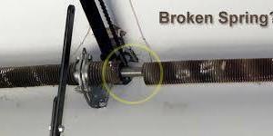 Photo #2: Garage Door Services. Broken Spring Specialist