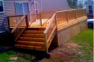 Photo #1: DECKS BY BEST PRICED HANDYMAN