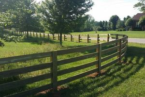 Photo #1: Good Neighbors Fence Comp. DISCOUTS ON ALL 3 & 4 BOARD FENCING!
