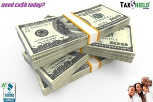Photo #1: TAXSHIELD TAX SERVICES. GET YOUR $500 CASH ADVANCE TODAY!