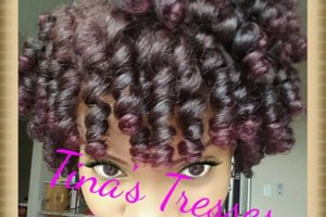 Photo #1: Natural Hair expert stylist. Wash & Go- $40