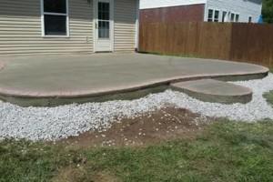 Photo #4: Pour Man Concrete. Affordable, Dependable, & Experienced