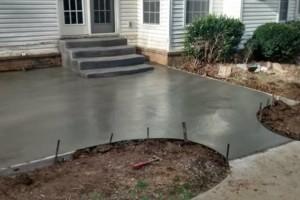 Photo #1: Pour Man Concrete. Affordable, Dependable, & Experienced
