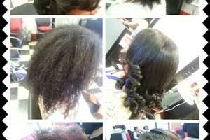 Photo #1: Dominican Blowout. Essentials Hair Salon