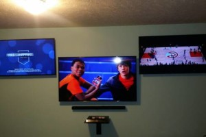 Photo #10: Tv's Mounted With No Wires Exposed!