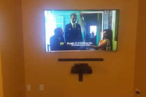 Photo #5: Tv's Mounted With No Wires Exposed!