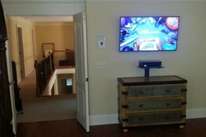 Photo #2: Tv's Mounted With No Wires Exposed!