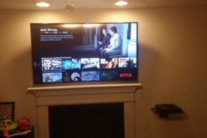 Photo #1: Tv's Mounted With No Wires Exposed!