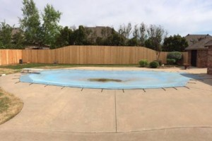 Photo #1: OK Fence Company LLC. New fence and fence repair.