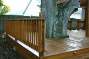 Photo #4: BACKYARD DECKS