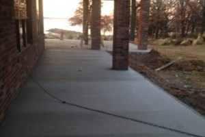 Photo #1: ANY commercial/residential concrete work. Very reasonable prices!!!