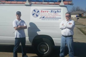 Photo #1: Serv-Right Heat n Air $59 service call