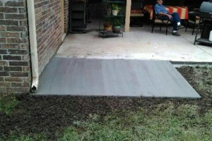 Photo #3: Concrete Driveways, Sidewalks, Patios