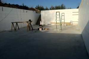 Photo #3: Eco-Block form block insulation walls