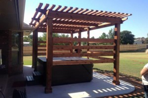 Photo #6: 10'X14' Cedar Pergola $4,200.00 installed