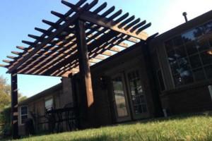 Photo #4: 10'X14' Cedar Pergola $4,200.00 installed