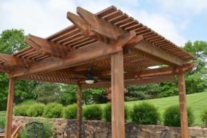 Photo #3: 10'X14' Cedar Pergola $4,200.00 installed