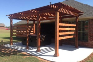 Photo #2: 10'X14' Cedar Pergola $4,200.00 installed