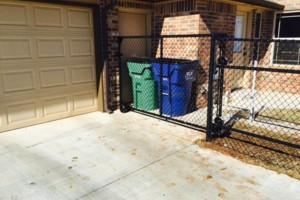 Photo #11: FenceOKC. Stockade fence, privacy fence...